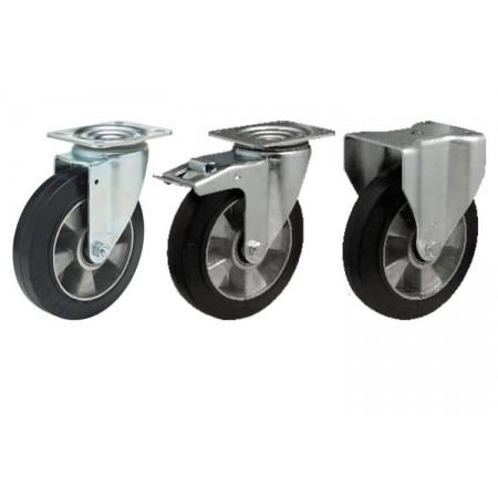 AB Алюминиево-резиновое колесо для средних нагрузок