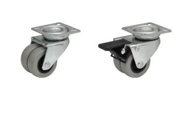 JD-BD Двойные колеса на площадке с полиуретановым протектором