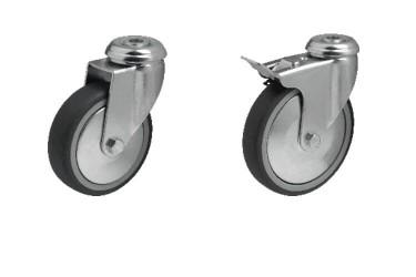 JD-BD Колесо с протектором серого цвета
